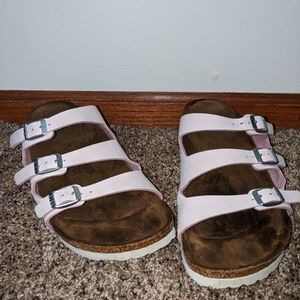 Florida Fresh Vegan Brushed Rose Birkenstocks